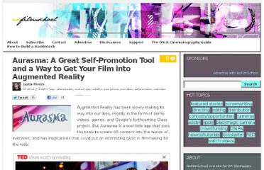 http://nofilmschool.com/2012/07/aurasma-self-promotion-film-altered-reality/
