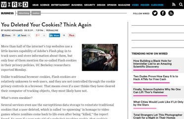 http://www.wired.com/business/2009/08/you-deleted-your-cookies-think-again/