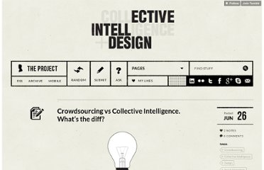 http://intellectivedesign.com/post/25942300816/crowdsourcing-vs-collective-intelligence-whats-the