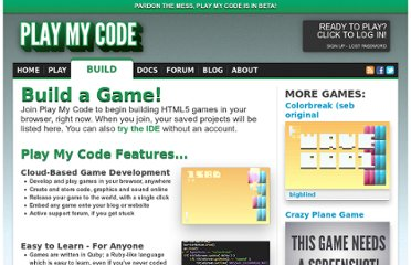 http://www.playmycode.com/build