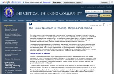http://www.criticalthinking.org/pages/the-role-of-questions-in-teaching-thinking-and-learning/524