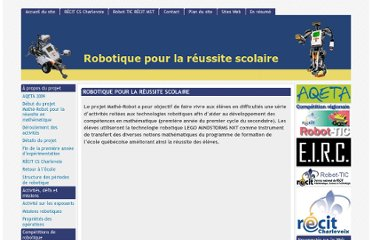 http://www.planete-education.com/robotique/