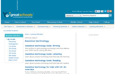 http://www.greatschools.org/articles/?topics=188&language=EN