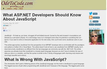 http://odetocode.com/Articles/473.aspx