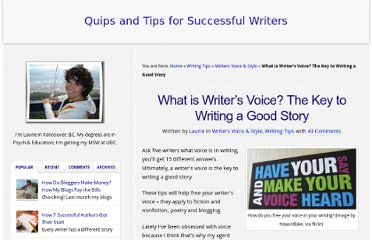 http://theadventurouswriter.com/blogwriting/what-is-writers-voice-creative-writing-tips/