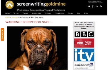 http://www.screenwritinggoldmine.com/how-to-write-a-screenplay