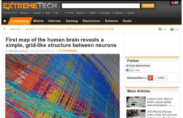 http://www.extremetech.com/extreme/133651-first-map-of-the-human-brain-reveals-a-simple-grid-like-structure-between-neurons