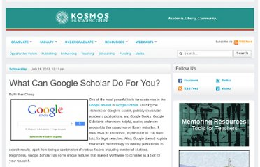 http://www.kosmosonline.org/2012/07/26/what-can-google-scholar-do-for-you/