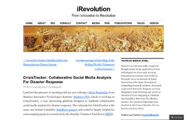 http://irevolution.net/2012/07/30/collaborative-social-media-analysis/