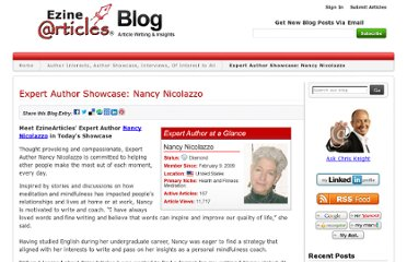 http://blog.ezinearticles.com/2012/07/expert-author-showcase-nancy-nicolazzo.html