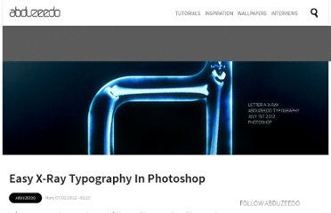 http://abduzeedo.com/easy-x-ray-typography-photoshop