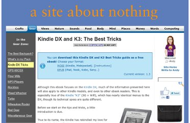 http://www.asiteaboutnothing.net/g_kindle-tricks.html