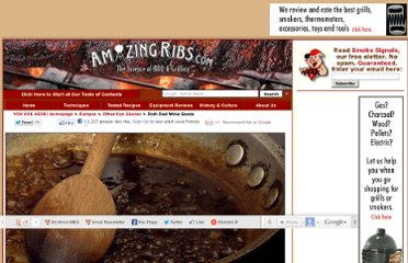 http://www.amazingribs.com/recipes/other_fun_sauces/rich_red_wine_sauce.html