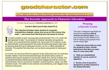 http://www.goodcharacter.com/Socratic_method.html