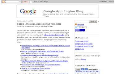 http://googleappengine.blogspot.com/2008/06/google-io-session-videos-posted-with.html