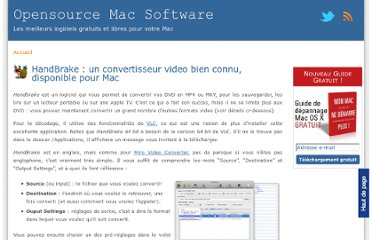 http://www.opensourcemacsoftware.org/convertisseur-codec-plugin/convertisseur-video-mac-gratuit-handbrake.html
