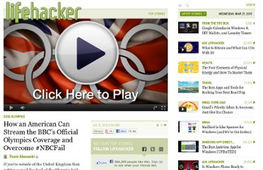 http://lifehacker.com/5930437/how-an-american-can-stream-the-bbcs-official-olympics-coverage-and-overcome-nbcfail