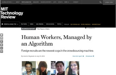 http://www.technologyreview.com/news/428440/human-workers-managed-by-an-algorithm/