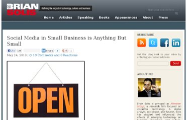 http://www.briansolis.com/2010/05/social-media-in-small-business-is-anything-but-small/