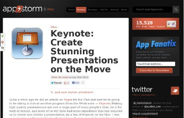 http://ipad.appstorm.net/reviews/office/keynote-create-stunning-presentations-on-the-move/