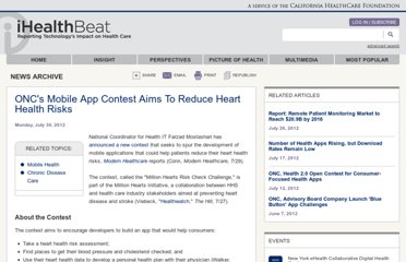 http://www.ihealthbeat.org/articles/2012/7/30/oncs-mobile-app-contest-aims-to-reduce-heart-health-risks.aspx