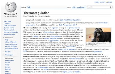 http://en.wikipedia.org/wiki/Thermoregulation#Limits_compatible_with_life