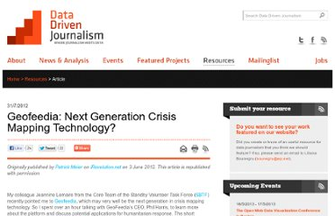 http://datadrivenjournalism.net/resources/geofeedia_next_generation_crisis_mapping_technology