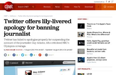 http://crave.cnet.co.uk/software/twitter-offers-lily-livered-apology-for-banning-journalist-50008770/