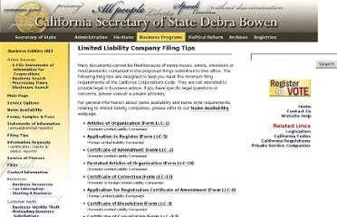 http://www.sos.ca.gov/business/be/filing-tips-llc.htm#llc5