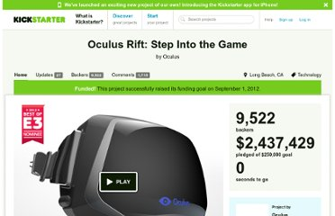 http://www.kickstarter.com/projects/1523379957/oculus-rift-step-into-the-game