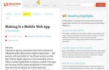 http://mobile.smashingmagazine.com/2011/01/26/making-it-a-mobile-web-app/#more-67386
