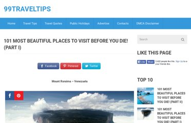 http://www.99traveltips.com/travel-tips/top-places-to-visit-until-you-die/