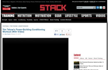 http://www.stack.com/2011/10/13/tim-tebows-power-building-conditioning-workout-with-video/