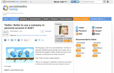 http://socialmediatoday.com/erincnelson/666391/twitter-better-use-company-or-personal-account-b2b