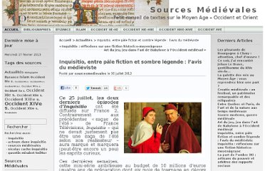 http://sourcesmedievales.unblog.fr/2012/07/30/inquisitio-entre-pale-fiction-et-sombre-legende-lavis-du-medieviste/