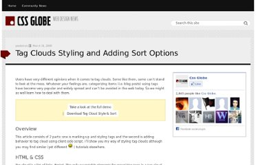 http://cssglobe.com/tag-clouds-styling-and-adding-sort-options/