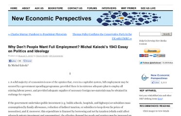 http://neweconomicperspectives.org/2012/08/political-aspects-of-full-employment.html