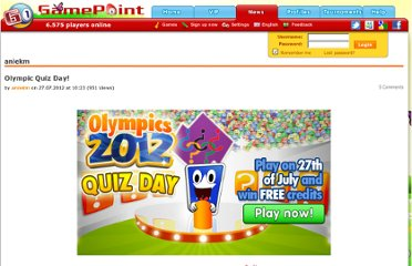 http://www.gamepoint.com/news/entry.php?249-Olympic-Quiz-Day!