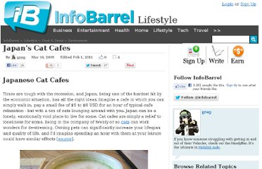 http://www.infobarrel.com/Japan%27s_Cat_Cafes