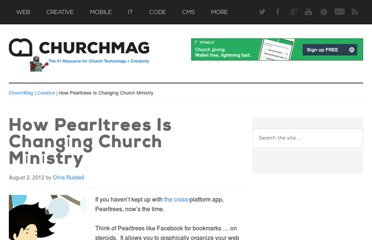 http://churchm.ag/pearltrees-church-ministry/