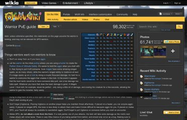 http://www.wowwiki.com/Warrior_PvE_guide