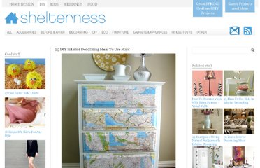 http://www.shelterness.com/25-diy-interior-decorating-ideas-to-use-maps/