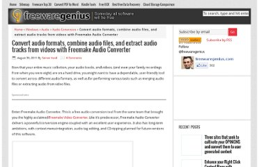 http://www.freewaregenius.com/convert-audio-formats-combine-audio-files-and-extract-audio-tracks-from-videos-with-freemake-audio-converter/