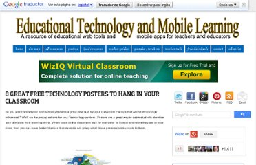 http://www.educatorstechnology.com/2012/08/8-great-free-technology-posters-to-hang.html
