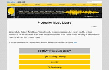 http://www.holdcom.com/production_music.php