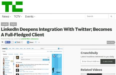 http://techcrunch.com/2010/05/25/linkedin-deepens-integration-with-twitter-becomes-a-full-fledged-client/