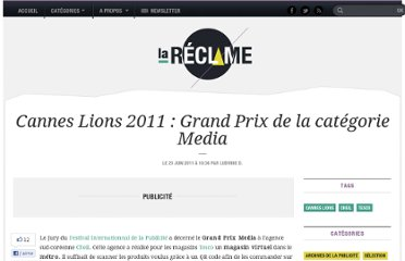 http://lareclame.fr/cannes+lions+media+grand+prix+2011