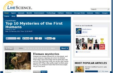 http://www.livescience.com/12937-10-mysteries-humans-evolution.html
