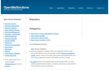http://www.opensitesolutions.com/services/education.php