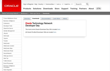 http://www.oracle.com/technetwork/middleware/weblogic/downloads/weblogic-developer-vm-303434.html